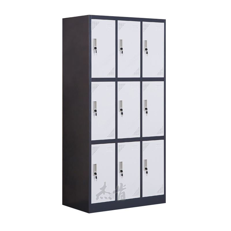 Nine door locker